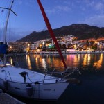 Night view is beatiful in Kalkan.